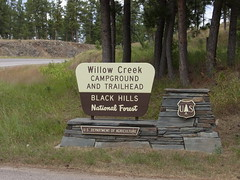 Willow Creek Campground (for people with horses only) Photo
