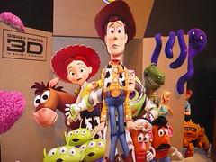 Toy Story 3 diorama (c_nilsen) Tags: california art jessie toystory buzzlightyear drawing alien barbie woody fair disney pixar animation bullseye sacramento mrpotatohead rex cartoons hamm sacramentocounty computeranimation californiastatefair mrspotatohead slinkydog toystory3