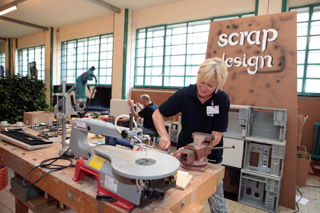 Scrap Design - Reparatur als Kunstform / Margot Lüftenegger, FAB Pro.Work