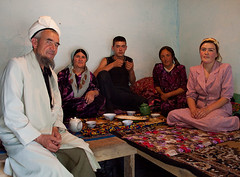 Mullah's family (Evgeni Zotov) Tags: old family boy people woman man carpet cafe asia village tea father daughter mother son bowl lad teapot kyrgyzstan uzbek kirghizistan kirgistan piala kirgizia kirgizistan arslanbob  kirgizi kirgisistan arstanbap  kirguistan kirghizia krgzistan quirguisto          chaykhana chaykhona  arstanbab   ashkhana oshkhona