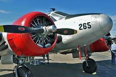 Beech UC-45J (skyhawkpc) Tags: nikon beech snb bjc jeffco d90 commemorativeairforce 39265 kbjc uc45j rockymountainmetropolitanairport snb2 americanairpowerheritageflyingmuseum n49265 2010coloradosportinternationalairshow