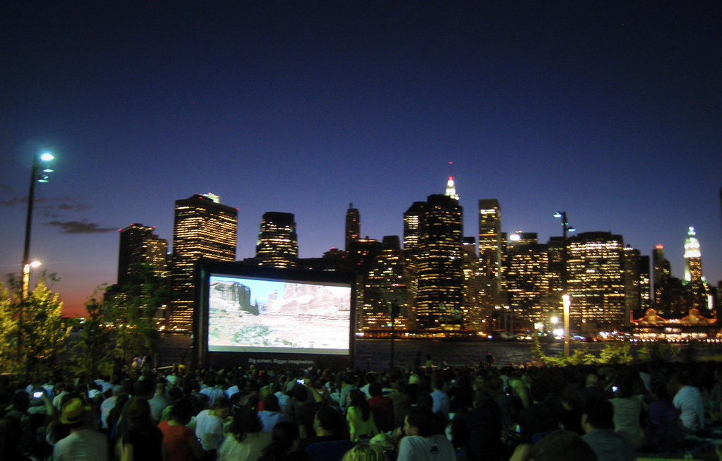 Movie with a view au Brooklyn Bridge Park