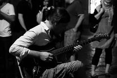 Chitarrista di strada (S.Cesaroni) Tags: street portrait music white black rock strada guitar musica piazza piazzanavona bianco ritratto nero guitarist navona chitarra electricguitar chitarrista chitarraelettrica