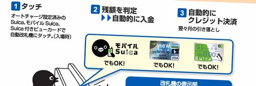 suica auto charge