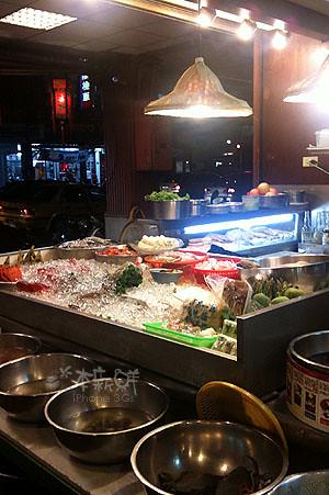 台北鵝肉海鮮擔仔麵