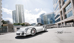360 Forged Concave 997 TT (360 Forged) Tags: silver nikon florida miami bees alien wheels 360 turbo porsche mia tt rims fla forged concave slammed 997 d300s