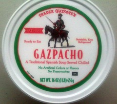 Gazpacho from Trader Joe's