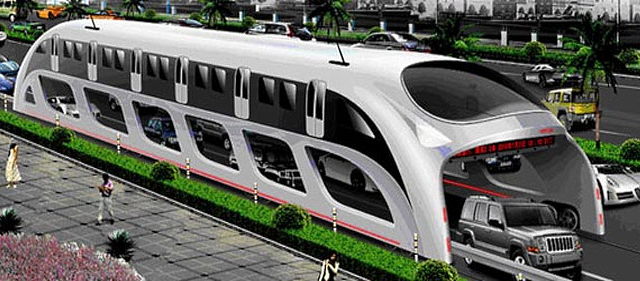 Giant bus proposal from China