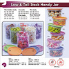 Low & Tall Stack Handy Jar ; Rp. 130.000 - Rp. 138.000