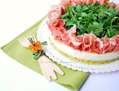 cheese cake stracchino