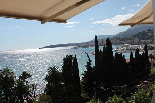 Mirazur view