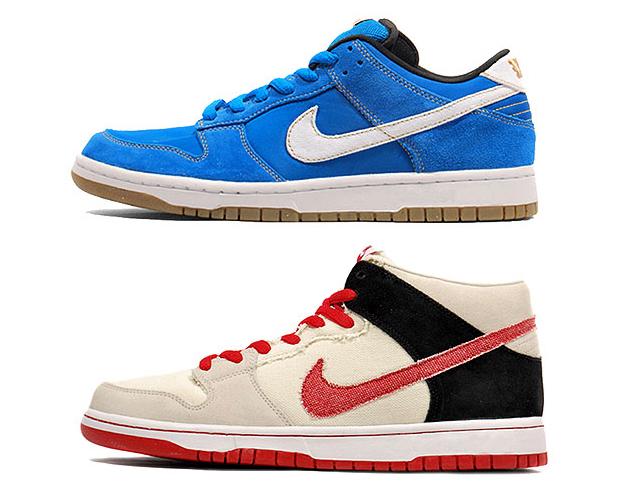 "separation shoes 78f2d 11de3 Nike SB Street Fighter Pack – Dunk Low ""Chun Li"" & Dunk Mid ..."
