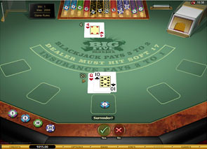 Big Five Blackjack Gold Series