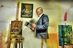 L'artista distratto - The artist distracted (RONALD MENTI) Tags: art photo artist foto fotografie photographer arte pentax digitalart fotografia netart fotografi artisti digitalfineart artedigitale virtualart impressionisticphotograph ronaldmenti mentironald fotografiaimpressionista pentaxk7
