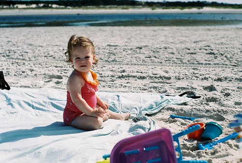 Little beach baby