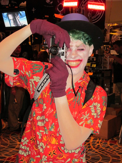 The Joker from the Killing Joke at DragonCon 2010
