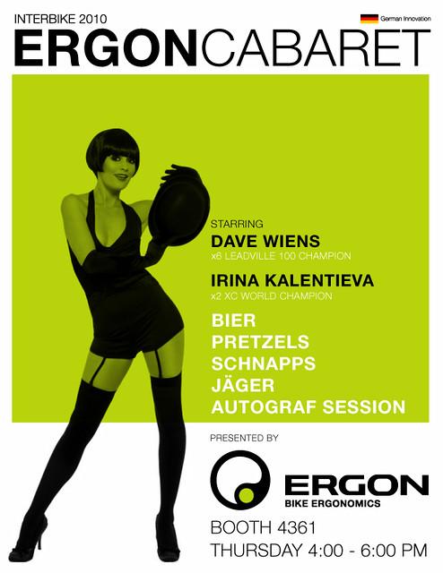 Ergon Cabaret Interbike 2010