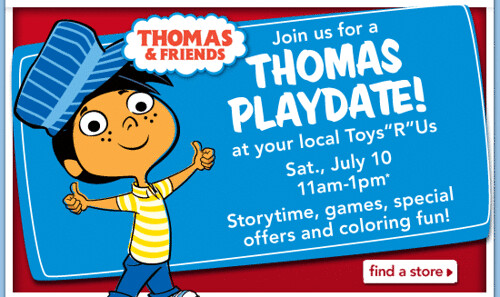 Toys R Us: Thomas Play Date Event (9/11/10)