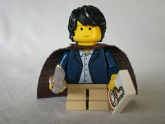 Lord of the Rings Custom Lego Frodo Baggins Hobbit