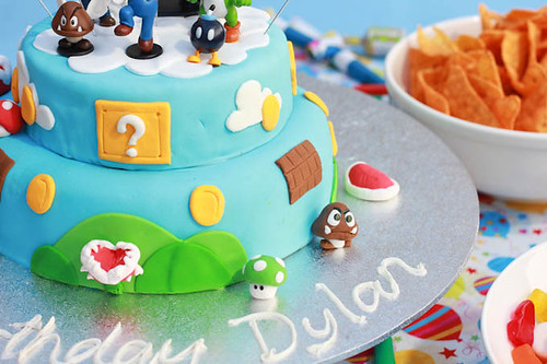 Mario Cake-5