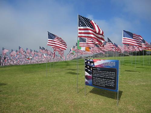 pepperdine 9/11 memorial