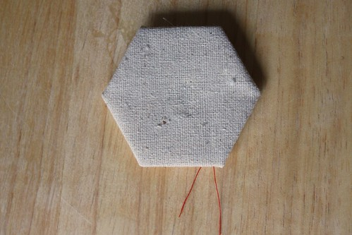 "Step 12: ""Right side"" of Completed Hexagon"