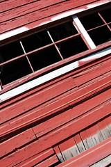 (ashleigh290) Tags: windows red lines oregon pumpkinpatch sauvieisland oldbarn