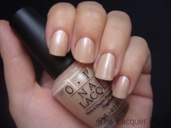 OPI Sand in my Suit Colour Club Revvvolution Lace Design Konad Imageplate M71