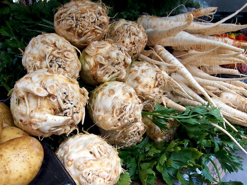 Celeriac and Parsley Root 塊根芹與荷蘭芹根