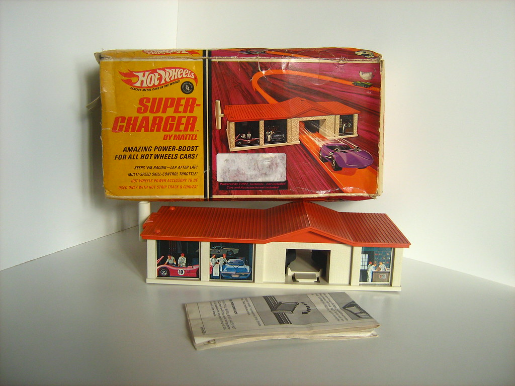 Mattel/Hot Wheels Toys - Supercharger (1968)