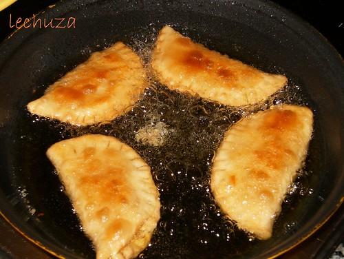 Empanadillas de lacón y San Simón-freimos