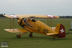 G-BVGP - 42 - Private - Bucker BU.133C Jungmeister - Duxford - 100905 - Steven Gray - IMG_5916