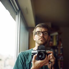 me, my kiev and I (lepublicnme) Tags: famille friends portrait people paris france 120 6x6 film face analog self mediumformat square moi september explore amis kiev familly personne argentique 2010 carr negatif c41 pellicule pelloche