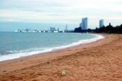 Beach at Pattaya, Thailand