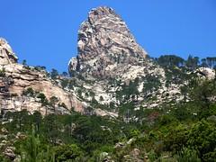Punta di Bonifacio depuis le Vangone di Lariciu