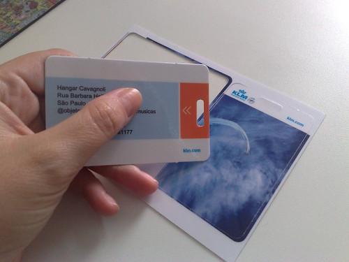 Etiquetas de Bagagem KLM