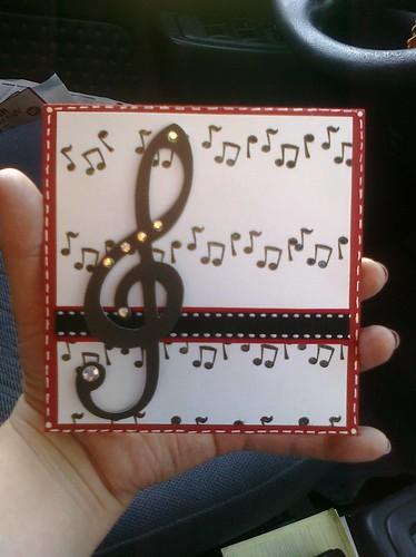 music card 4