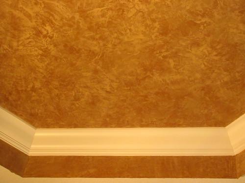 Plaster for ceilings