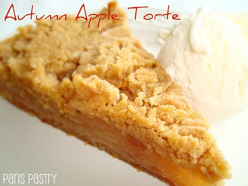 Autumn 苹果Torte