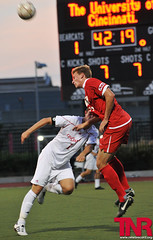 EQ_UCvsUD_19_web (EamonQ) Tags: sports football nikon soccer uc tnr ud 2010 universityofcincinnati seasonopener sept1 universityofdayton thenewsrecord collegesoccer d300s 912010 eamonqueeneyphotograhpy 175rivalry
