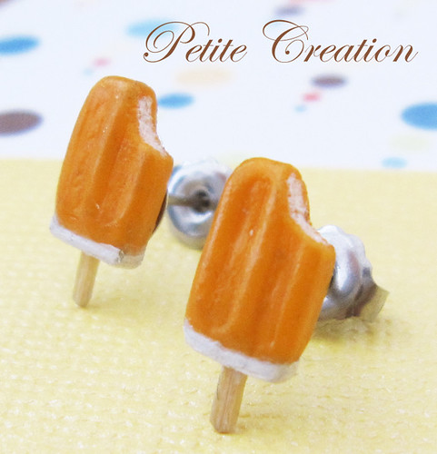 Popsicle Collection - Ice Cream Popsicles (Stud Earrings)