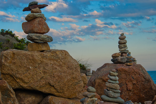 Rock piles
