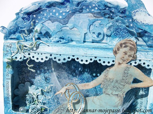 mixedmedia#19 _ Blue Shadowbox 2