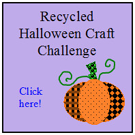 Recycled Halloween Craft Challenge on Henthorne Handmade