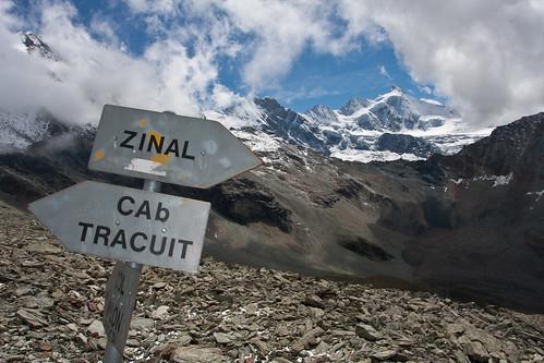 Cabane de Tracuit - 3256m