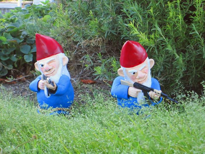Combat Garden Gnomes 014