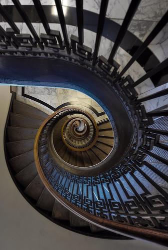 [フリー画像] 建築・建造物, 階段, 201009200100