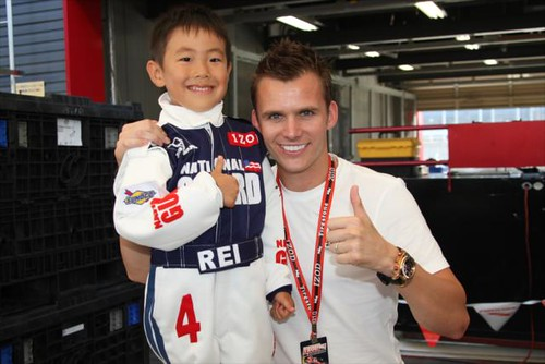 Mini Wheldon and Wheldon