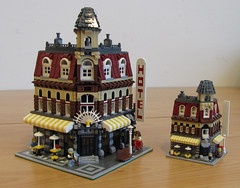 Father and Son (photo by Biczzz) (marcosbessa) Tags: lego comunidade0937 marcosbessa littlecafecornerrevisited