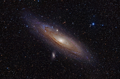 M31, the Andromeda Galaxy (now with h-alpha)